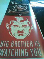 Big brother is always watching by CHIN2OFF