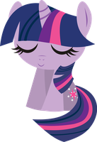 Chibi  Twilight sparkle by INKandMYSTERY