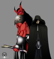 DARK LORDS OF THE SITH by ERIC-ARTS-inc