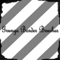 Grunge Border Brushes by Caitie14