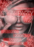 abiPARTY no.2 FLYER by MarcmitC