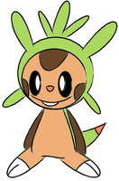 Chespin by paokamon