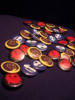 2010 Daisho Buttons by PixelMagus