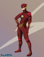 The Flash by BombOPAUL