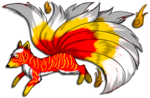 Fire Fox for Crystalstripe by GrimmXD-Adopts