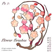 Flower Brushes by Aka-Joe