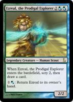 MtG - Ezreal, the Prodigal Explorer by soy-monk