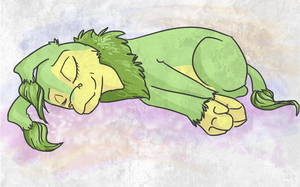 Let sleeping Dozil's lie. by Free-Fall-Angel