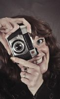 Karen Vintage Camera and Detail by BrknRib