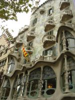 Gaudi Facade by prudentia