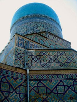 Dome of Registan by Androssw
