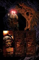 Aliens graphic novel page by LiamSharp