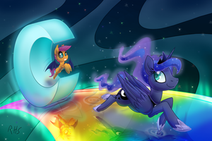 Racing Down the Dream Path by 14Dreamer