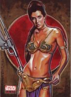Star Wars Galaxy 4:Slave Leia by Randy-Martinez