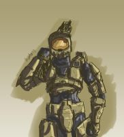 Master Chief by StarbuckViper