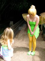 Tinkerbell Goes to the Park by DesertOtaku