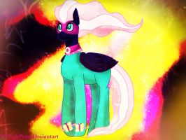 .: Nightmare Fluttershy - Saddle Rager :. by ASinglePetal
