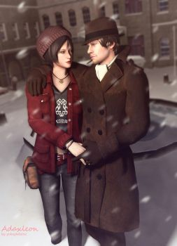 Ada x Leon: Winter Love by Yokoylebirisi