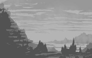 EnvironmentSketch150 by thevilbrain