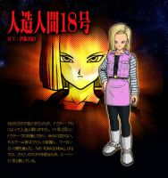 Android 18 on Super DBZ by BlackFrieza