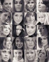 Girl's faces by myph