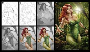 Poison Ivy_process by chuaenghan