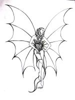 vampire with wings by Lycra21