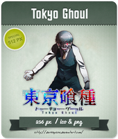 Tokyo Ghoul - Anime Icon by Darklephise