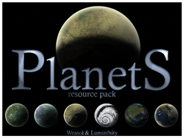 Planet resource pack 1 by weasol