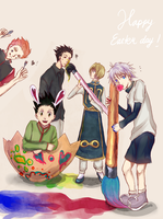 Happy Easter Day! by Tamapopo