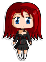 [C] Mini Chibi Elena by izka197