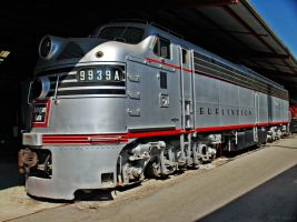 Chicago Burligton Quincy 9939A by SMT-Images