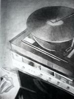 Old Record Player by aerokay