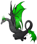 Riftwing Dragon - MLP style by iSaunter