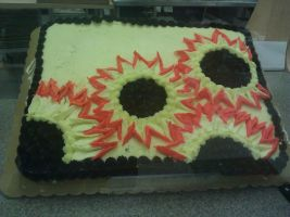 Display cakes Fall: Sunflowers by Bake-a-saur