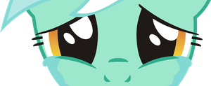 Lyra cry PNG by leopurofriki