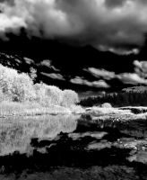 Hope Valley Black and White by Caitiekabob
