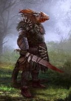 Lizardman by Nahelus