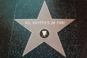 Ru's HollyWood Star. by DixieDevated