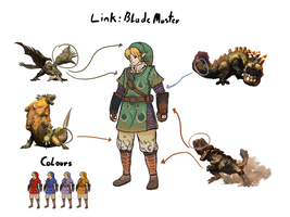 Link: MH style by wyvernsmasher
