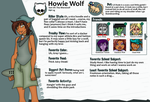 Monster High OC 3 Howie Wolf by AaronScales15