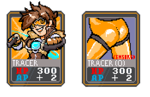 Tracer Card by PixelCard