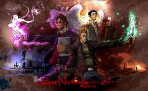 fanart to SuperNatural by breathing2004