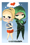 Felicity and Oliver by Senhoshi