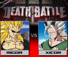 Death Battle - RIGOR vs XICOR by MalikStudios