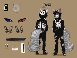 Ref sheet: Fang by Fatwacks