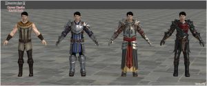 Dragon Age II: Carver Hawke Model Pack by Berserker79