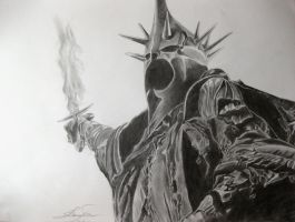 Witch King of Angmar by bio-girl91