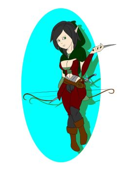DnD Rogue by KtronTheLordofTime