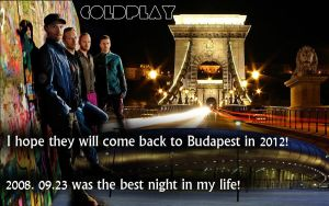Best night ever with Coldplay by SliderGirl